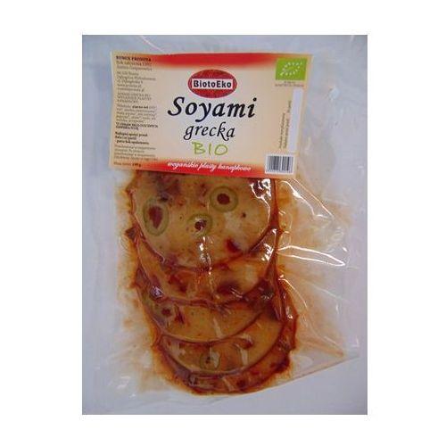 Biotoeko (produkty wegetariańskie) Wegańskie plas. kanapk. soyami grecka bio 130g-bi