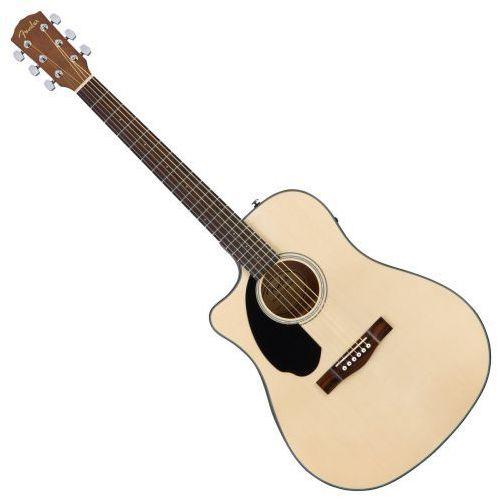 Fender cd-60sce lh natural gitara elektroakustyczna