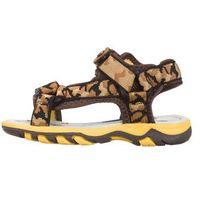 Wrangler Land River Sandały dziecięce Żółty Brązowy Beżowy 30, kolor brązowy