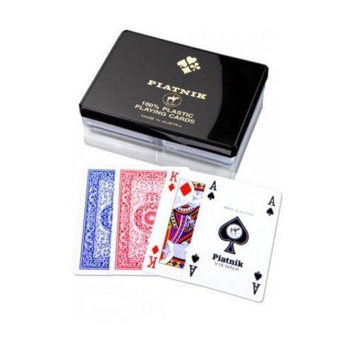 Karty do gry Piatnik 2 talie Plastic (9001890236426)