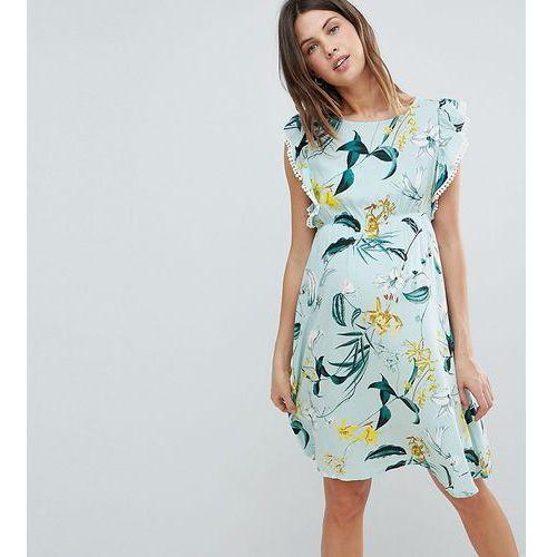 Mamalicious floral print shift dress - multi marki Mama.licious