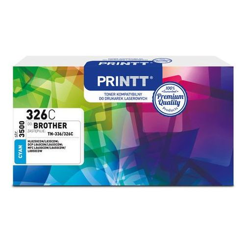Toner printt do brother ntb326c (tn-336/326) cyan 3500 str. marki Ntt system