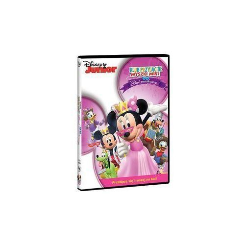 Klub Przyjaciół Myszki Miki. Bal maskowy [DVD] - Dobra cena!