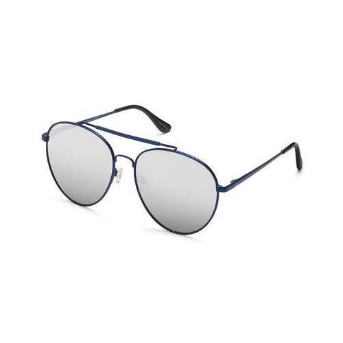 Okulary Słoneczne Quay Australia QUAY AUSTRALIA QU-000155 LICKETY SPLIT BLUE/SLV, kolor niebieski
