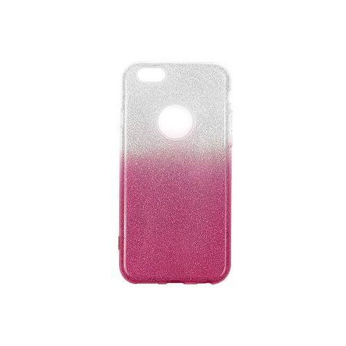 Apple iPhone 6s - etui na telefon Forcell Shining - różowe ombre, kolor różowy