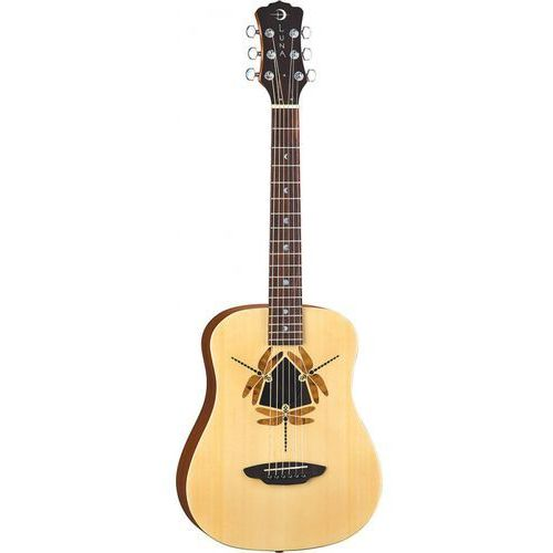 Luna Safari Dragonfly gitara akustyczna 3/4