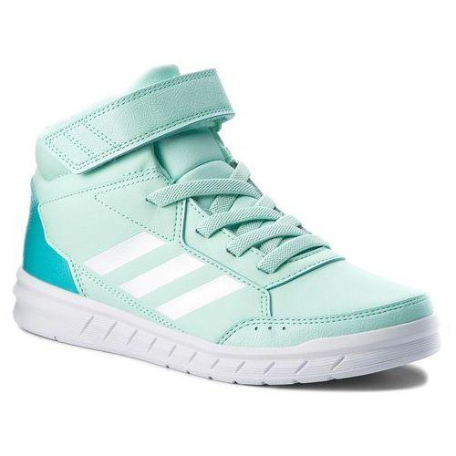 new product a516a 8f550 Buty adidas - AltaSport Mid EL K AH2557 CleminFtwwhtHiraqu, kolor zielony