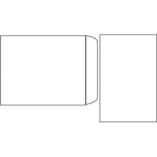 Koperta b-4 zaklejana na mokro biała 250 szt. - x03472 marki Nc koperty