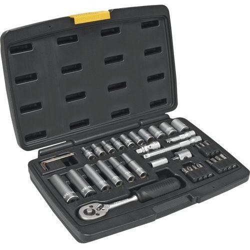 Zestaw kluczy nasadowych 38d669 1/4 cala (36 elementów) marki Topex