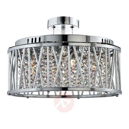 Searchlight Lampa wisząca elise ze szklanymi kryształkami