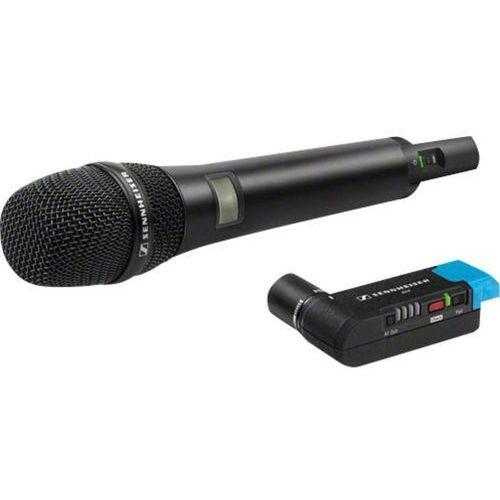 Mikrofon do kamery  avx-835 set-3-eu, komunikacja: radiowa, z kablem, z klipsem marki Sennheiser