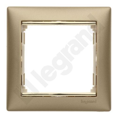 Ramka pojedyncza Legrand Valena 770301 uniwersalna złoty mat/złoto, 770301