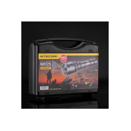 Zestaw myśliwski Hunting Kit latarka MH25 860 lumenów - LAT/NITECORE MH25 ZESTAW - produkt z kategorii- Latarki