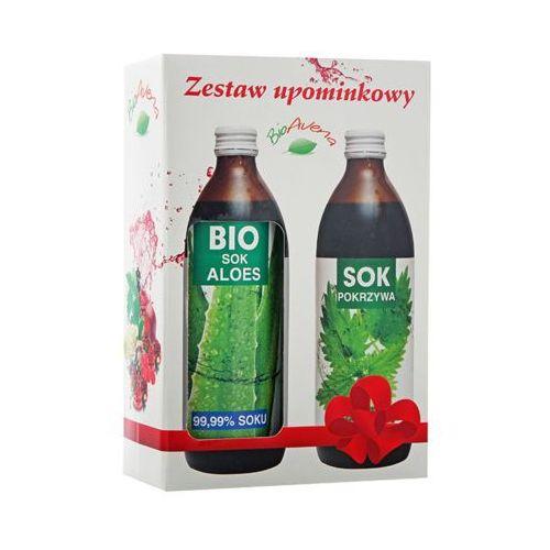 Bioavena  zestaw sok bio aloes 500ml + sok z pokrzywy 500ml