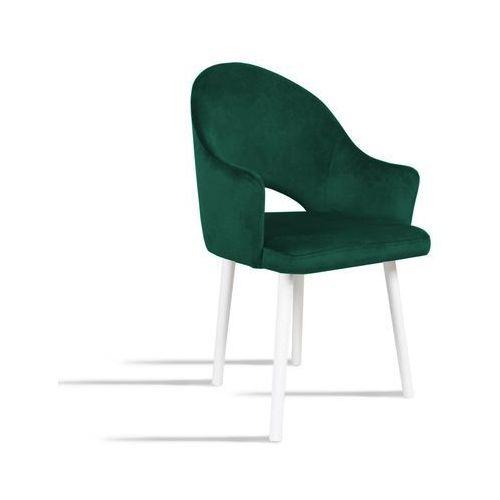 Krzesło BARI zielony/ noga biała/ SO260, 28 dni roboczych