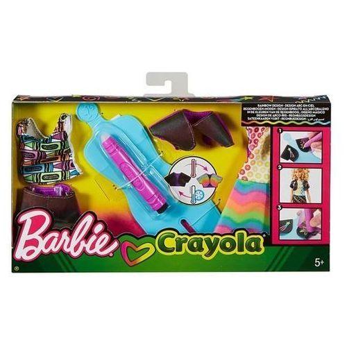 Barbie rainbow design zestaw fhw87 marki Mattel