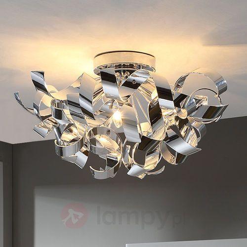 Piękna chromowa lampa sufitowa Elviro (4251096516425)