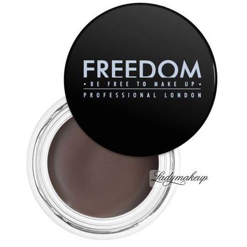 Freedom Eyebrow Pomade pomada do brwi odcień Caramel Brown 2,5 g