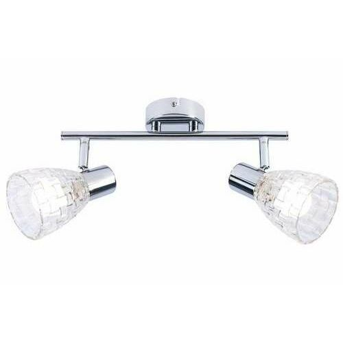 ricky 831102-06 listwa plafon lampa sufitowa spot 2x40w e14 chrom marki Reality