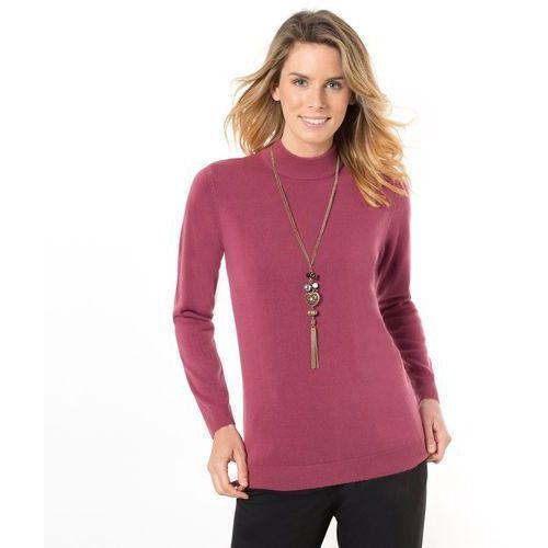 Sweter z golfem z kaszmirowo miękkiej dzianiny, sweter damski ANNE WEYBURN