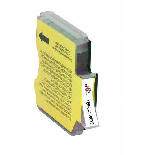 TB Print Tusz TBB-LC1100YE (Brother LC980/1100) ŻÓŁTY 100% nowy (5901500500371)