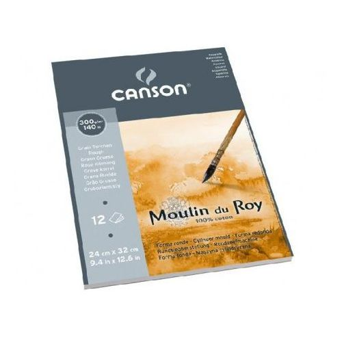 moulin du roy® papier akwarelowy 24x32/12 torchon marki Canson