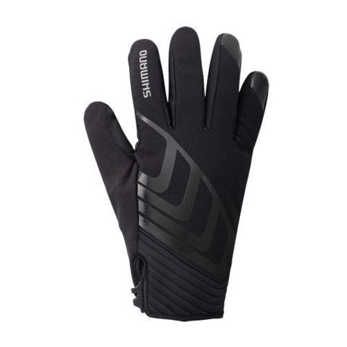 Ecwglbwms52ml5 rękawiczki windbreak all condition glove czarne xl do -7°c marki Shimano
