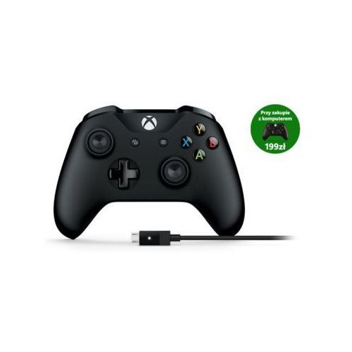 Gamepad MICROSOFT Xbox One + przewód dla systemu Windows (0889842121971)