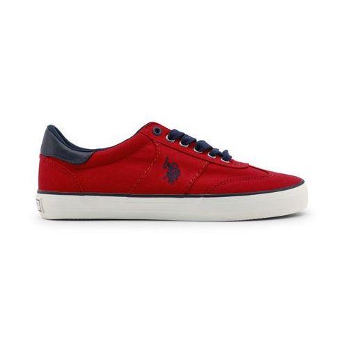Buty sportowe męskie U.S. POLO - MARCS4146S8_C1-25, kolor czerwony
