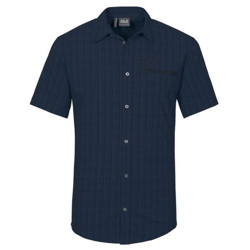 Koszula RAYS STRETCH VENT SHIRT MEN - night blue checks