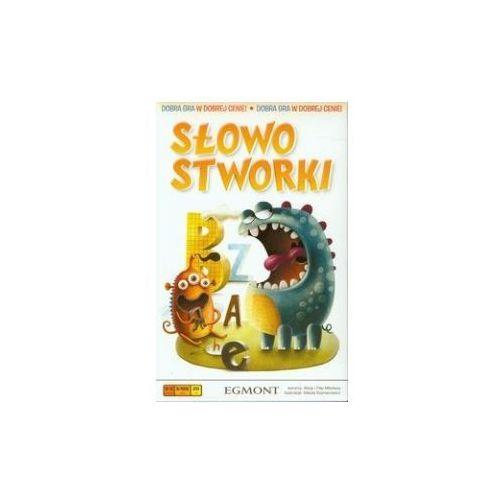 Słowostworki. gra planszowa marki Egmont