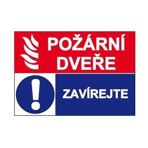 Drzwi przeciwpożarowe z kategorii Znaki informacyjne i ostrzegawcze