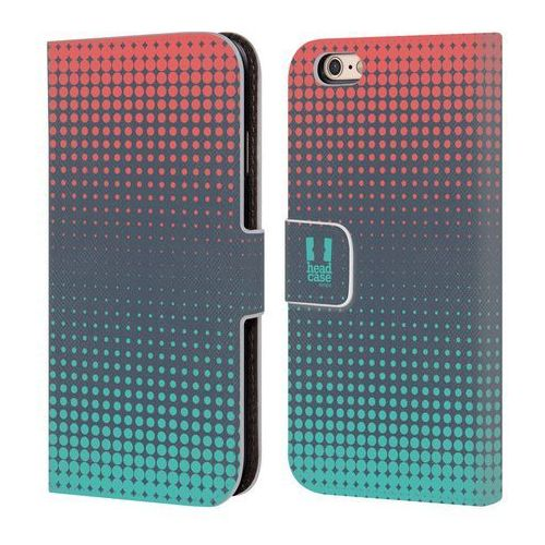 Head case Etui portfel na telefon - halftones grey