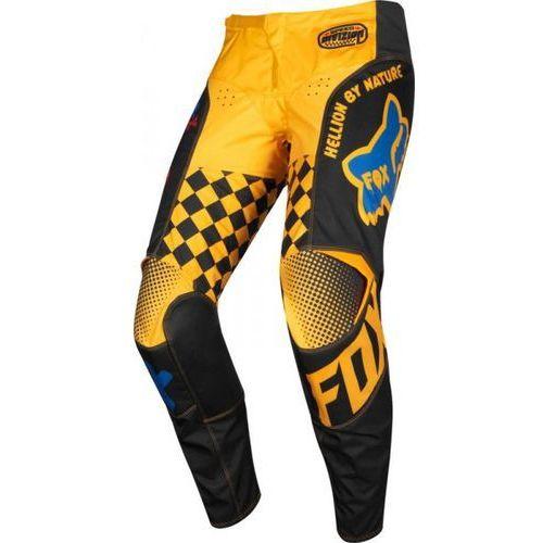 Fox spodnie off-road junior 180 czar black/yellow