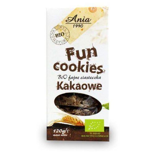 Fun cookies czekoladowe 120g bio marki Bioania