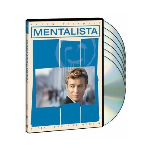 Mentalista (sezon 1, 6 DVD) (7321909257443)