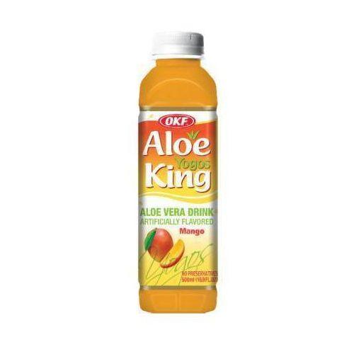 500ml king yogos napój aloesowy o smaku mango z probiotykiem marki Okf