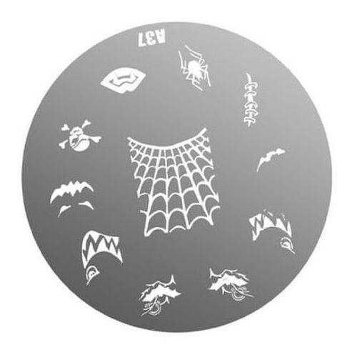 metal plate for nail art płytka metalowa do zdobień - 24 marki Neonail