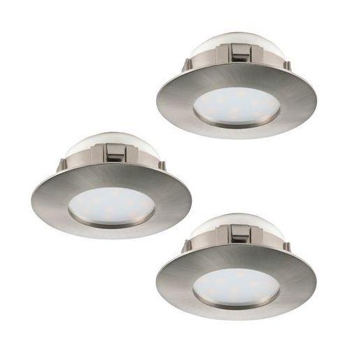 Eglo 95816 - Zestaw 3x LED Oprawa wpuszczana PINEDA 3xLED/6W/230V