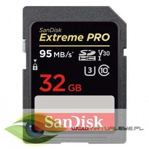 Extreme pro sdhc 32gb 95/90 mb/s v30 uhs-i u3 marki Sandisk