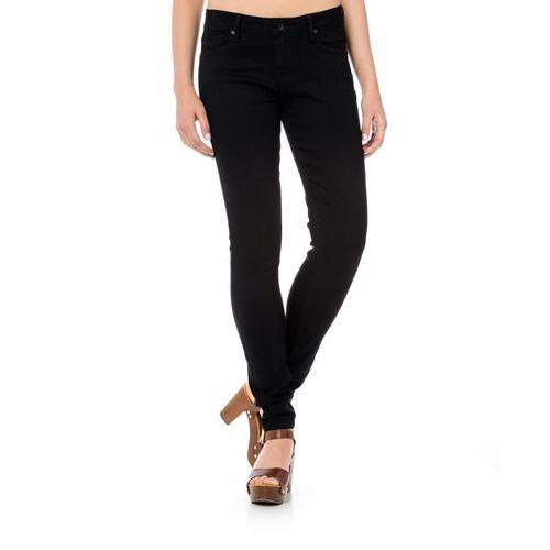 Timeout jeansy damskie 26/30 czarny, jeansy