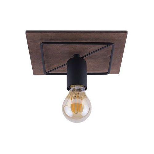 Plafon Nowodvorski Cobra Antique I 9042 oprawa sufitowa 1x60W E27 czarny/ brąz, kolor Brązowy,