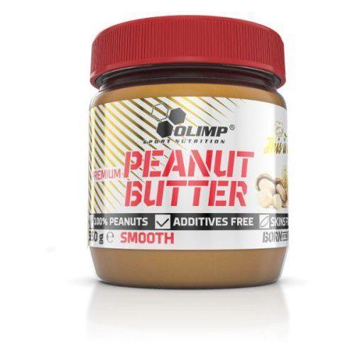 premium peanut butter smooth 350g marki Olimp