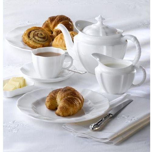 Royal crown derby surrey white serwis do herbaty dla 6 osób