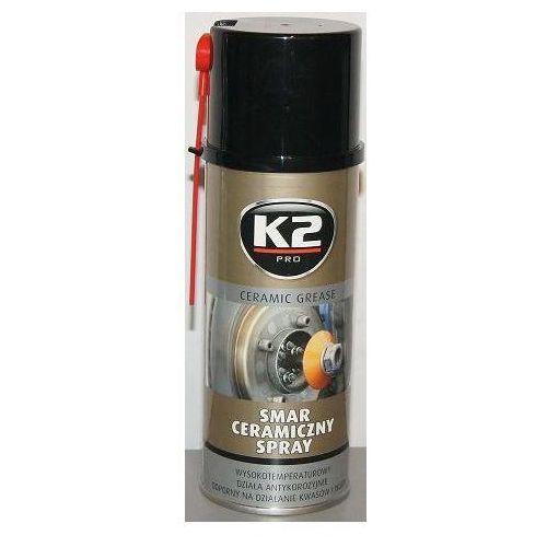 K2 Smar ceramiczny 400ml spray wysokotemperaturowy w124