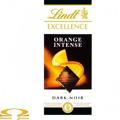 LINDT 100g Excellence Orange Intense Czekolada