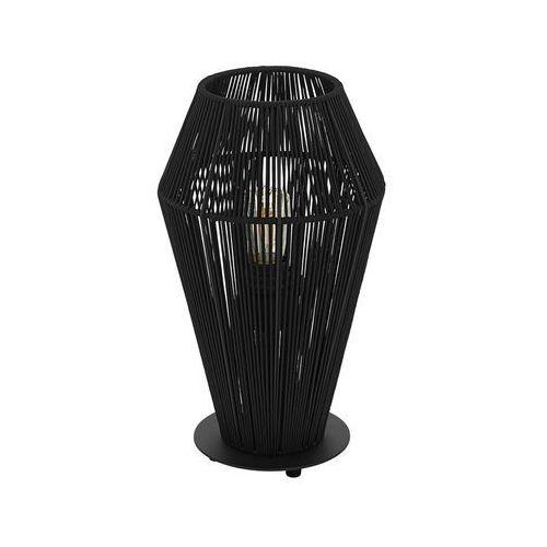 Eglo Lampka palmones 97796 stołowa nocna 1x60w e27 czarna