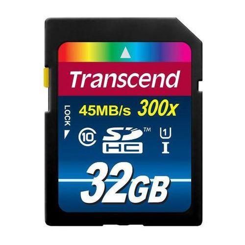 sdhc class 10 uhs-i 32gb - produkt w magazynie - szybka wysyłka! marki Transcend