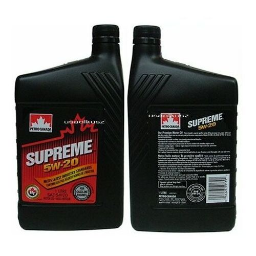 Petro-canada Olej silnikowy mineralny supreme 5w20 1l
