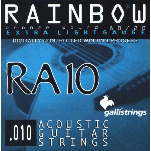 ra10 extra light - struny do gitary akustycznej marki Galli